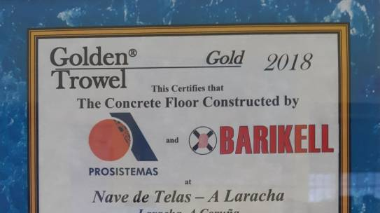 Golden Trowels Award 2018